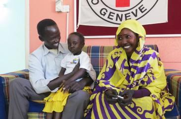 수단/남수단: 5살 레일라, 가족과 다시 만나다