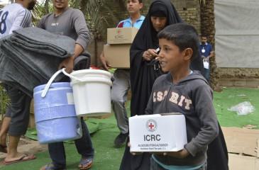 이라크: 130만 명에게 식량과 긴급 구호물품 전달