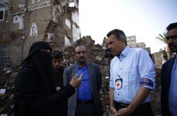 피터 마우러 ICRC 총재, '세계 인도주의 정상회의'에서 연설
