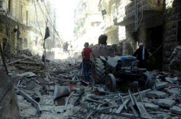 """시리아 알레포, """"가장 파괴적인 현대 도시 분쟁 중 하나"""""""