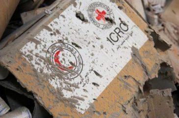 시리아 : 인도주의 단체 공습, 인륜에 어긋나는 국제법 위반 행위