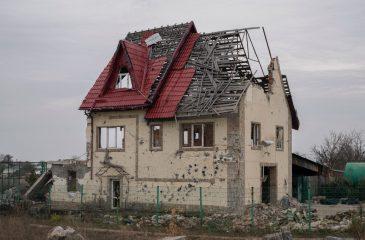 우크라이나 동부: 분쟁의 상흔
