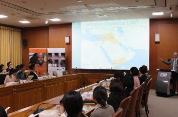 ICRC 사무차장, 외교부에서 면담 및 세미나 진행