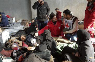 시리아: 작년 한 해 동안의 ICRC 활동