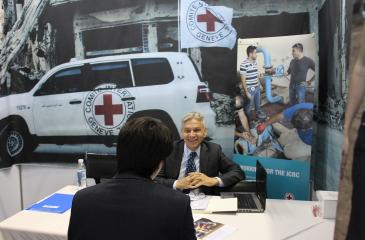 ICRC, KOTRA주관 2017글로벌취업상담회 참가