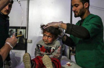 """시리아: 구타 동부지역의 고통, """"임계점"""" 도달"""