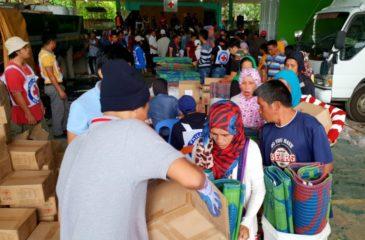 ICRC:  필리핀 라나오 델 수르 주 실향민 2,500명에 생필품 제공