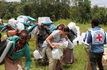 ICRC: 종족 분쟁으로 인한 피해자들에게 긴급 구호 활동 개시