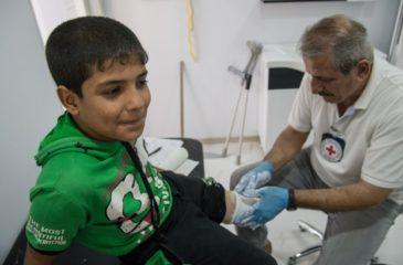 모술: ICRC 설립 신체 재활센터, 장애인들에게 새로운 희망을