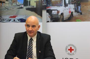 ICRC 평양사무소 바트 베르메이렌 대표 한국 방문