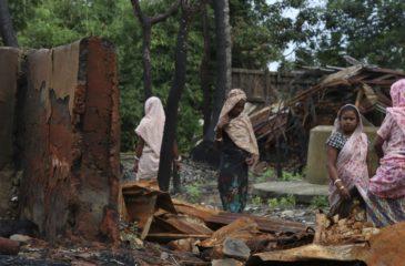ICRC: 미얀마적십자사와 함께 라카인에서 계속 발생하는 강제이주민 약 5천 명 이상 지원