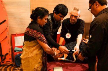 콕스 바자르: 교육 과정을 통한 응급실 혼란 상황 대처 방안 모색