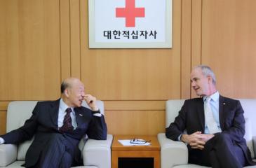 2019 질스 카르보니에 ICRC 부총재 방한
