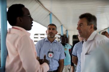 """""""우리는 현재 아프리카 지역의 코로나 바이러스 확산 방지를 위해 박차를 가하고 있습니다."""""""