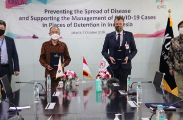 ICRC와 KOICA, 인도네시아 67개 교도소 내 방역 역량 강화 위해 협력