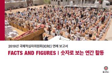 2019년 ICRC 연례 보고서- 숫자로 보는 연간 활동