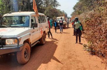 중앙아프리카공화국 : 모든 부상자의 생명과 치료가 보장되어야 합니다.