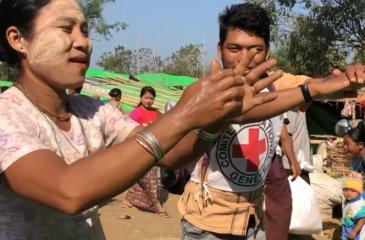 미얀마 대표단 : 손지아 보건 담당관 활동 소식