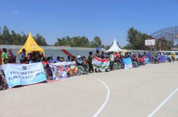 """에티오피아: """"휠체어 농구가 궁극적인 행복의 원천이 되었습니다"""""""