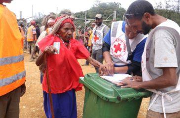 파푸아뉴기니: 2021년 세계적십자의날